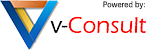 v-consult logo powered by small